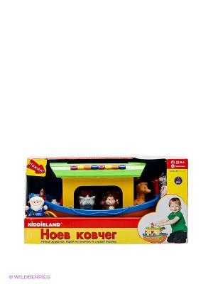 Развивающая игрушка Ноев ковчег Kiddieland. Цвет: зеленый, желтый