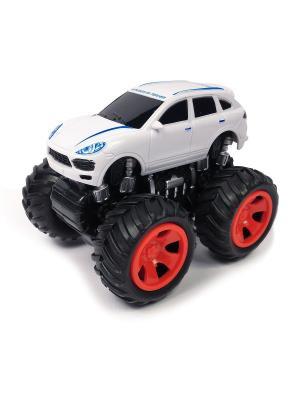 Машина инерционная Азбука Тойс. Цвет: белый