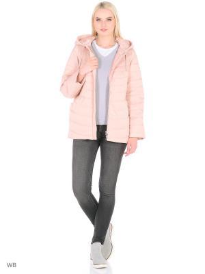 Куртка Snow Guard. Цвет: розовый