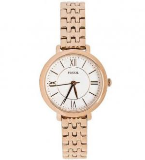 Часы с золотистым металлическим браслетом Fossil
