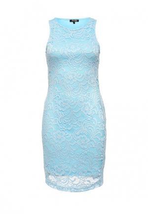 Платье Stella Morgan. Цвет: голубой