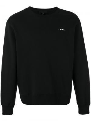 Printed sweatshirt Xander Zhou. Цвет: чёрный