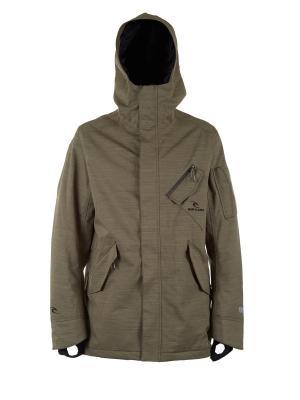 Куртка  NUTHOUSE GUM JKT Rip Curl. Цвет: коричневый, светло-коричневый, бежевый