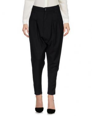 Повседневные брюки MINIMAL. Цвет: черный