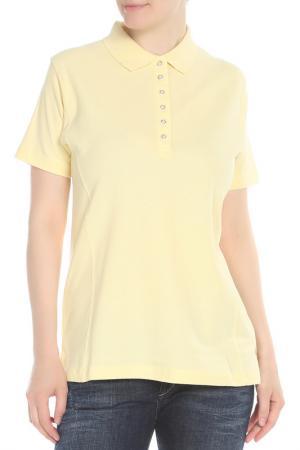 Рубашка Поло HARTWELL. Цвет: желтый