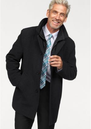 Короткое пальто STUDIO COLETTI. Цвет: темно-серый