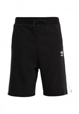 Шорты спортивные adidas Originals. Цвет: черный