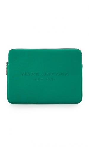 Неопреновый чехол для ноутбука с диагональю экрана 13 дюймов Marc Jacobs. Цвет: голубой