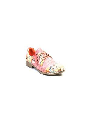 Ботинки Airbox. Цвет: розовый