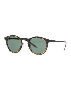Солнечные очки KYME. Цвет: песочный