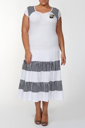 Платье MAXLIVE. Цвет: белый, черный