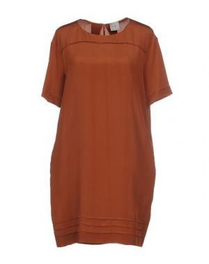 Короткое платье ...À_LA_FOIS.... Цвет: коричневый