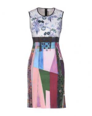 Короткое платье CLOVER CANYON. Цвет: белый
