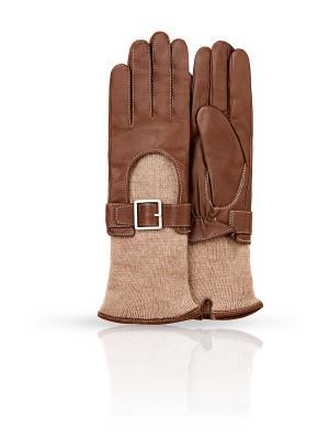 Перчатки Dali Exclusive. Цвет: бронзовый