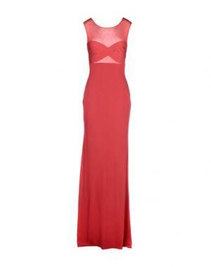 Длинное платье HERVE' L. LEROUX. Цвет: красный