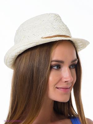Шляпа Maxval. Цвет: молочный