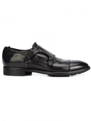 Туфли монки Princeton Officine Creative. Цвет: чёрный