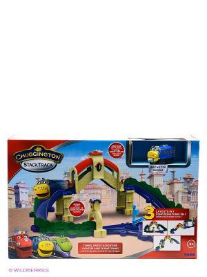 Игровой набор Мост и туннель Chuggington. Цвет: синий, зеленый