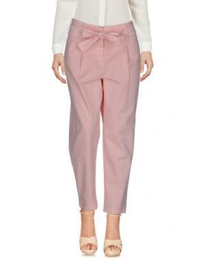 Повседневные брюки I BLUES. Цвет: розовый