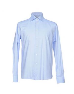 Pубашка BRANCACCIO C.. Цвет: небесно-голубой