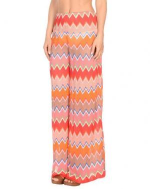 Пляжные брюки и шорты MISSONI MARE. Цвет: лососево-розовый