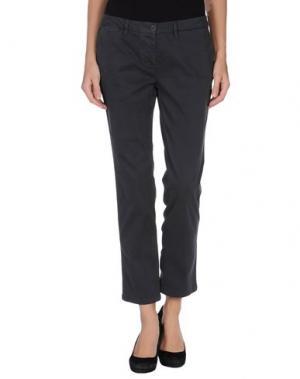 Повседневные брюки DEK'HER. Цвет: свинцово-серый