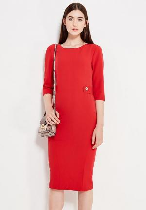 Платье Peperuna. Цвет: красный