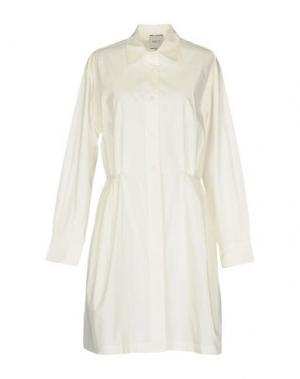 Короткое платье EDIT. Цвет: слоновая кость