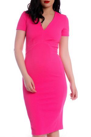 Платье Emma Monti. Цвет: розовый