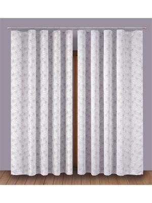 Комплект штор P Primavera Firany. Цвет: серый