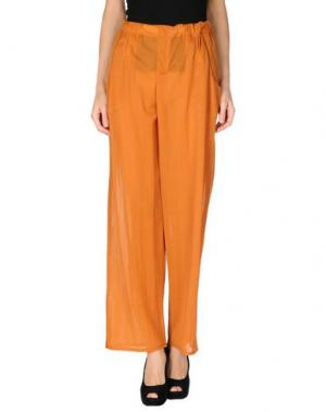 Повседневные брюки CARLO CONTRADA. Цвет: ржаво-коричневый