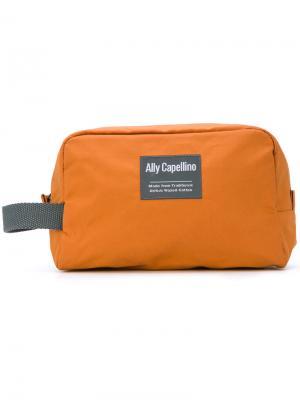 Сумка Mini Simon Ally Capellino. Цвет: жёлтый и оранжевый