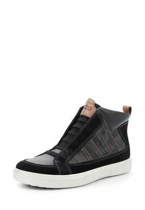 Ботинки CADEN ECCO. Цвет: черный