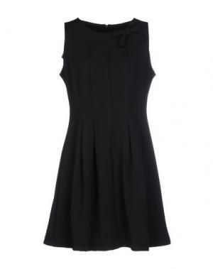 Короткое платье ALFONSO RAY. Цвет: черный