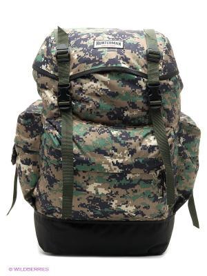 Рюкзак для охоты Охотник 35 V3 км Nova tour. Цвет: черный, зеленый, светло-бежевый, белый