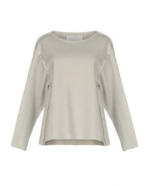 Блузка CHARLIE MAY. Цвет: светло-серый