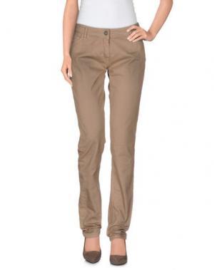 Повседневные брюки ALYSI. Цвет: верблюжий
