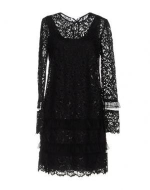 Короткое платье MAIYET. Цвет: черный