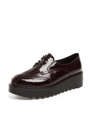 Ботинки THOMAS MUNZ. Цвет: бордовый