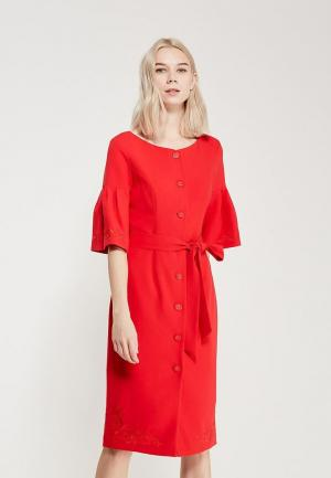 Платье Ksenia Knyazeva. Цвет: красный