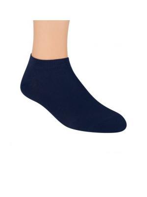Носки унисекс, бамбук Steven, 44-46, темно-синий Steven. Цвет: темно-синий