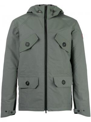 Куртка с карманами спереди Canada Goose. Цвет: серый