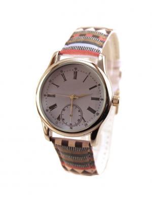 Дизайнерские часы Opнамент и Классика Tina Bolotina. Цвет: темно-коричневый, светло-серый