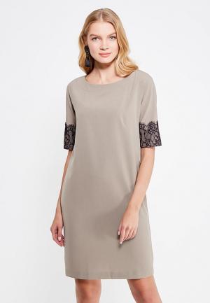 Платье Levall. Цвет: хаки