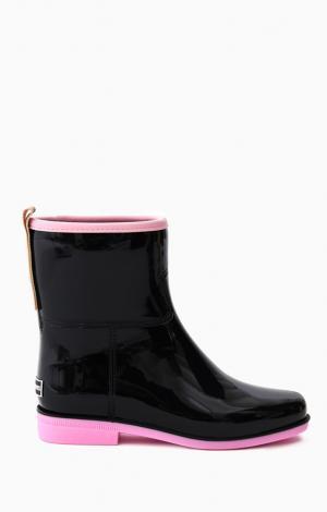 Полусапоги резиновые Розовые Boomboots