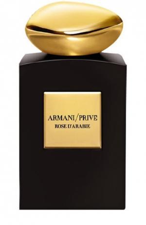Парфюмерная вода Rose DArabie Giorgio Armani. Цвет: бесцветный