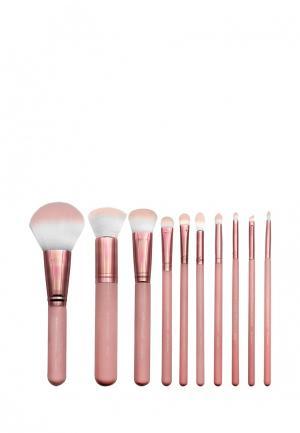 Набор кистей для макияжа Royal&Langnickel. Цвет: розовый