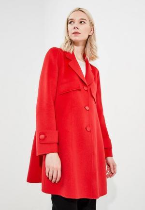 Пальто Emporio Armani. Цвет: красный