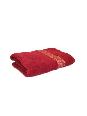 Полотенце махровое PROFFI HOME Классик, 70х140см, бордовый. Цвет: бордовый