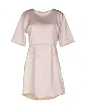 Короткое платье ..,MERCI. Цвет: светло-розовый